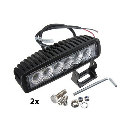 LED On/Off-Road Lampenset III
